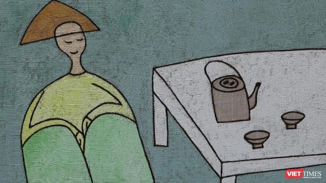 """""""Về bến lạ"""" của hoạ sĩ Lê Thiết Cương: Chắt lọc trên con đường tối giản ảnh 1"""