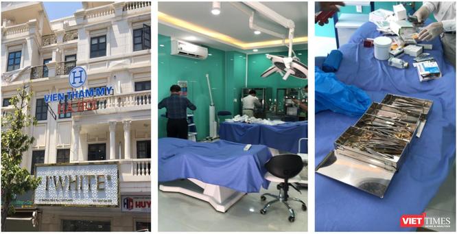TP.HCM phát hiện xử lý 2 cơ sở phẫu thuật thẩm mỹ ngang nhiên hoạt động trái phép ảnh 1