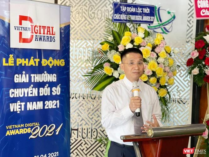 Phát động Giải thưởng Chuyển đổi số Việt Nam 2021 tại TP.HCM ảnh 3