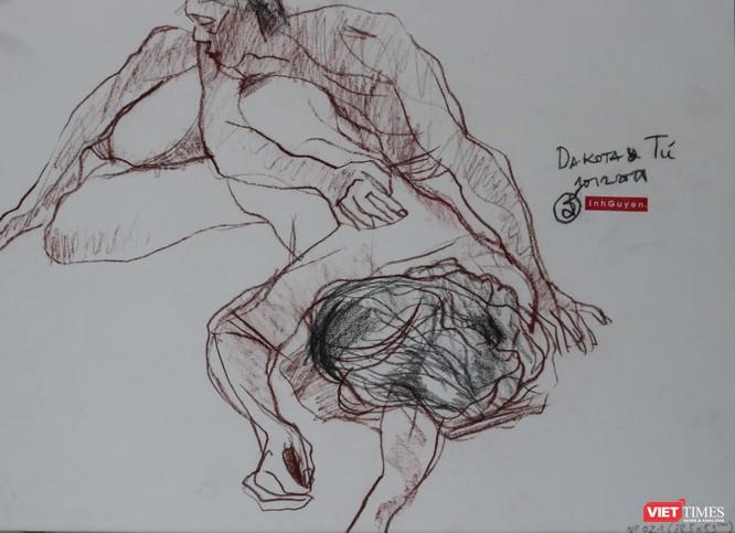 """Ấn tượng """"Nét và Hình"""" của họa sĩ Nguyễn Dương Đính ảnh 2"""