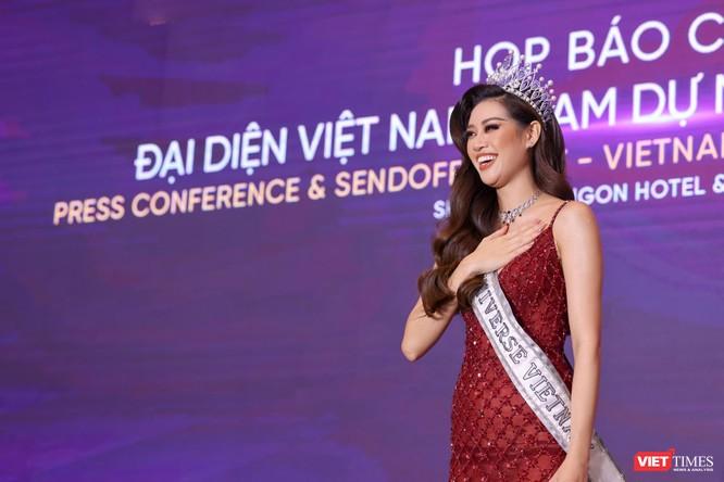 Hoa hậu Khánh Vân đại diện VN sang Mỹ chinh phục Miss Universe lần thứ 69 ảnh 5