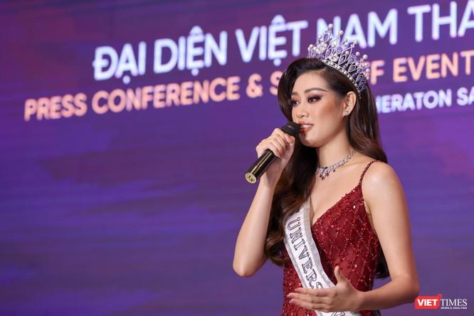 Hoa hậu Khánh Vân đại diện VN sang Mỹ chinh phục Miss Universe lần thứ 69 ảnh 4