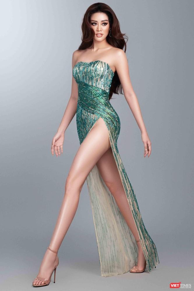 Hoa hậu Khánh Vân khoe dáng nõn nà trước thềm bán kết Miss Universe ảnh 3