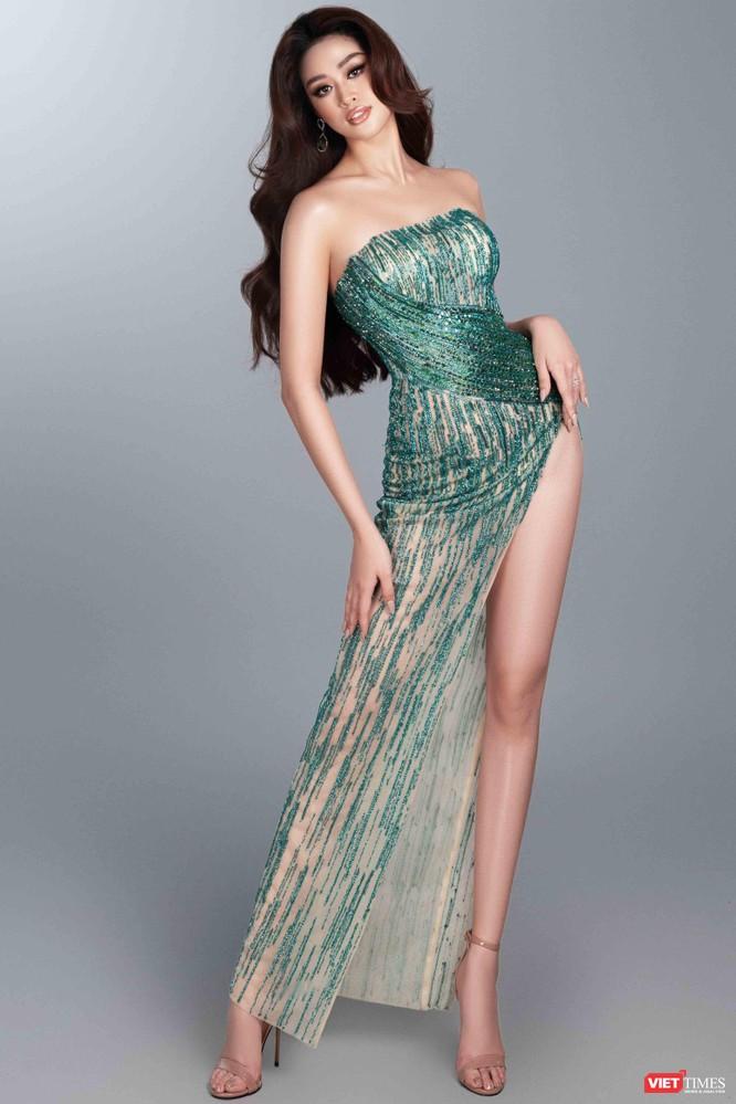 Hoa hậu Khánh Vân khoe dáng nõn nà trước thềm bán kết Miss Universe ảnh 4