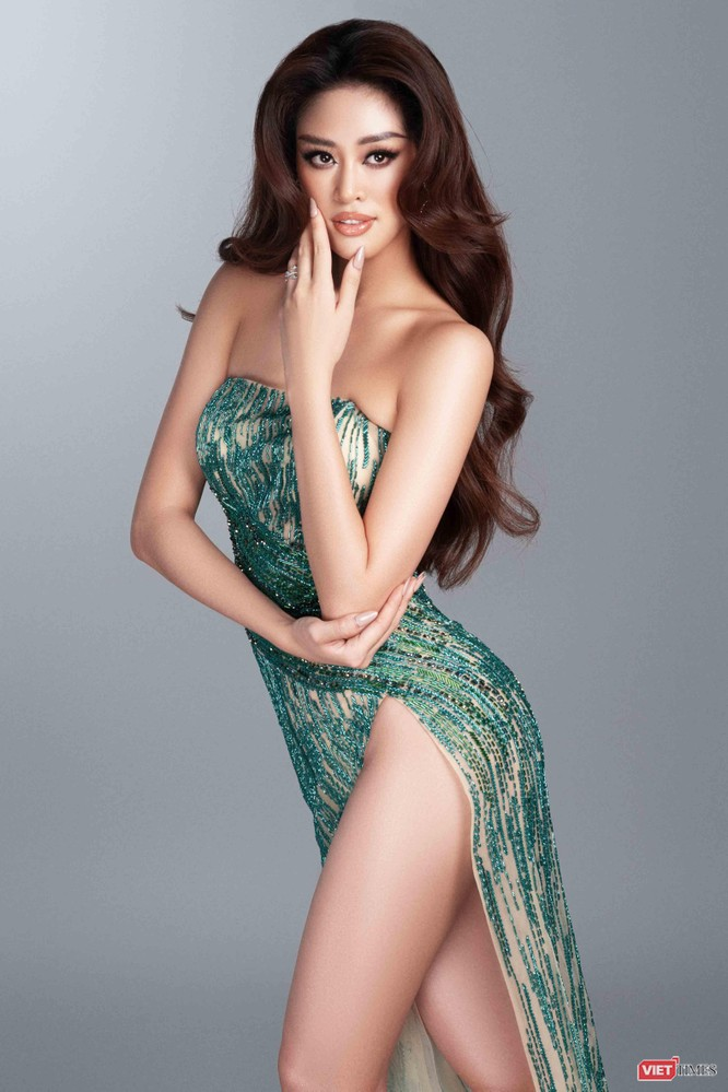 Hoa hậu Khánh Vân khoe dáng nõn nà trước thềm bán kết Miss Universe ảnh 5