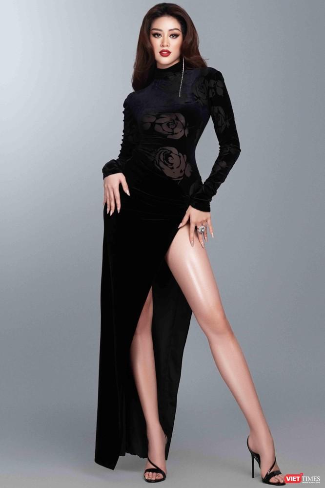 Hoa hậu Khánh Vân khoe dáng nõn nà trước thềm bán kết Miss Universe ảnh 7