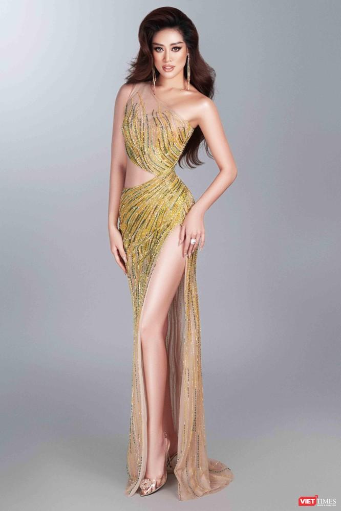 Hoa hậu Khánh Vân khoe dáng nõn nà trước thềm bán kết Miss Universe ảnh 2