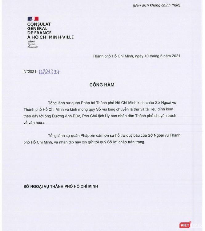 Về cuộc thi thiết kế Nhà hát ngàn tỉ, Tổng Lãnh sự quán Pháp gửi công hàm tới UBND TP.HCM ảnh 3