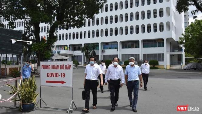 821 ca bệnh trong cộng đồng, TP.HCM tiếp tục giãn cách theo Chỉ thị 15 để chống dịch ảnh 1