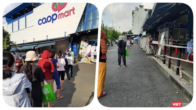 Dân đứng đợi cả tiếng dưới nắng, vào đến nơi quầy không còn gì để mua ảnh 1