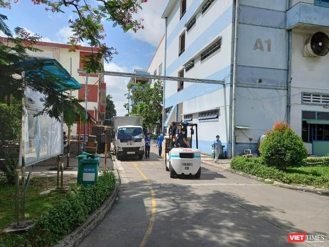 Bộ Y tế tư vấn đảm bảo an toàn, tránh đứt gãy sản xuất tại Tân Phú ảnh 1