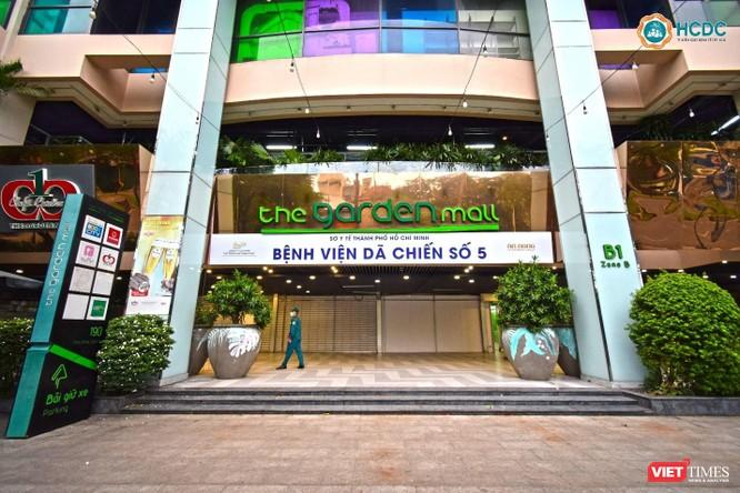Bên trong Bệnh viện dã chiến số 5 thi công thần tốc ở Thuận Kiều Plaza ảnh 1
