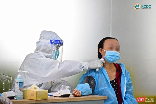 Bên trong Bệnh viện dã chiến số 5 thi công thần tốc ở Thuận Kiều Plaza ảnh 3