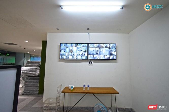 Bên trong Bệnh viện dã chiến số 5 thi công thần tốc ở Thuận Kiều Plaza ảnh 6