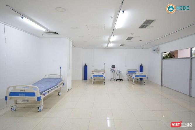 Bên trong Bệnh viện dã chiến số 5 thi công thần tốc ở Thuận Kiều Plaza ảnh 4