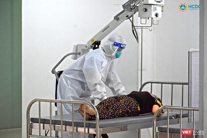Bên trong Bệnh viện dã chiến số 5 thi công thần tốc ở Thuận Kiều Plaza ảnh 5