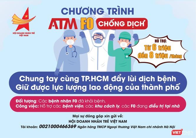 TP.HCM: Lạ lùng có ATM F0 chống dịch, bổ sung tình nguyện viên cho tuyến đầu ảnh 2