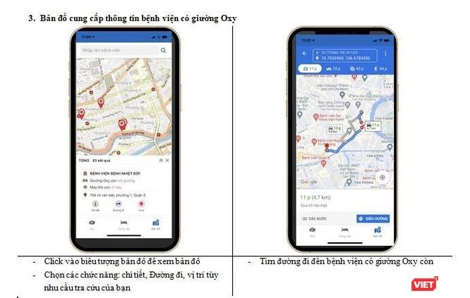 TP.HCM: Ra mắt app Oxy 247 tìm giường Oxy cho bệnh nhân COVID-19 ảnh 3