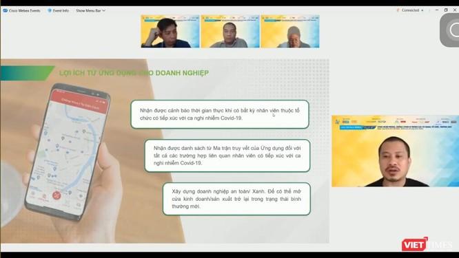 Hội thảo trực tuyến đưa giải pháp chống dịch ở nhà trường, công sở ảnh 5