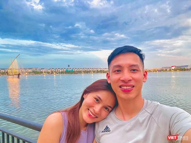 Vợ tiền vệ Đỗ Hùng Dũng tiết lộ tình trạng sau chấn thương kinh hoàng của chồng ảnh 1