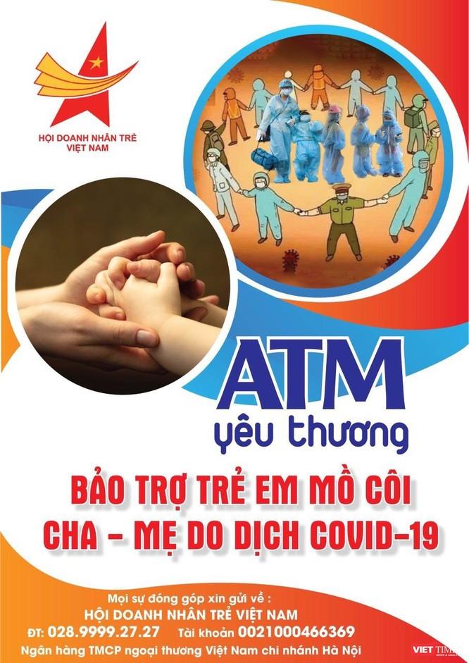 Phát động ATM Yêu thương bảo trợ trẻ mồ côi do dịch bệnh COVID-19 ảnh 1