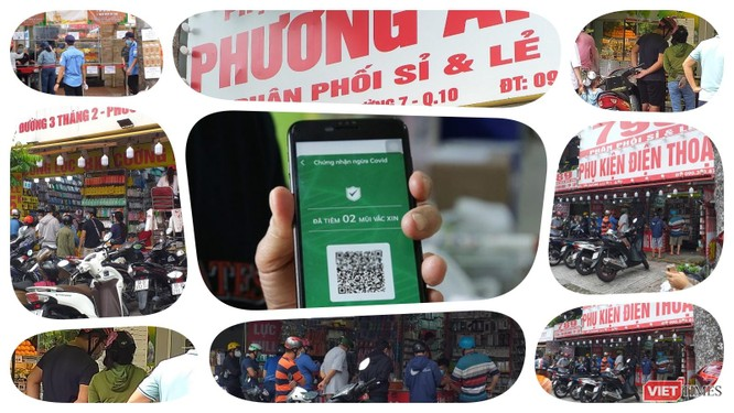 TP.HCM: Có thẻ xanh COVID, dân vùng dịch được đi siêu thị mua đồ, nhưng đừng tụ tập xếp hàng dài ảnh 2