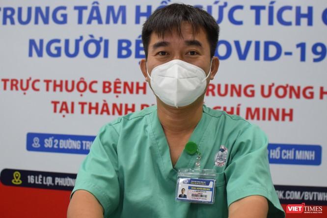 Trung tâm Hồi sức COVID-19 BV Trung ương Huế: Bác sĩ ở tâm dịch TP.HCM chưa xác định ngày về ảnh 1