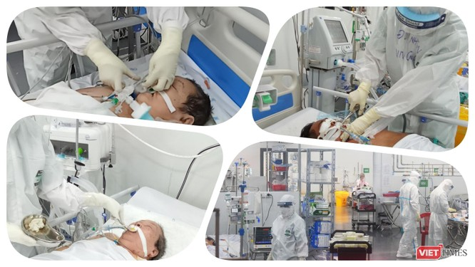 Trung tâm Hồi sức COVID-19 BV Trung ương Huế: Bác sĩ ở tâm dịch TP.HCM chưa xác định ngày về ảnh 5