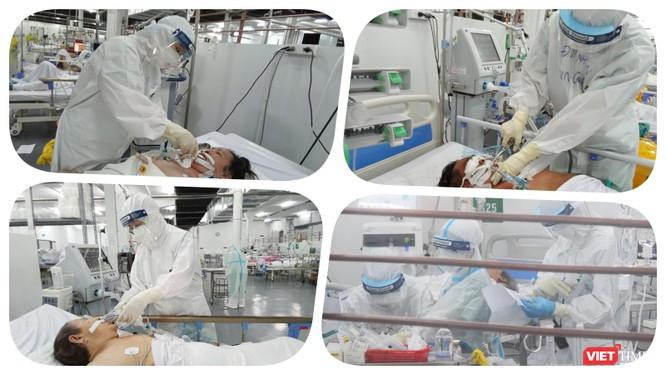 Trung tâm Hồi sức COVID-19 BV Trung ương Huế: Bác sĩ ở tâm dịch TP.HCM chưa xác định ngày về ảnh 6