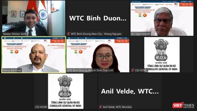 Triển lãm trực tuyến kết nối giao thương Ấn Độ - Việt Nam hậu COVID-19 ảnh 3