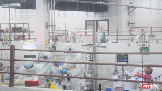 Trung tâm Hồi sức COVID-19 BV Trung ương Huế: Bác sĩ ở tâm dịch TP.HCM chưa xác định ngày về ảnh 7