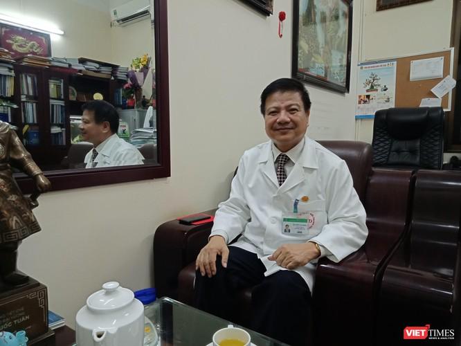 GS.TS Nguyễn Văn Kính - Giám đốc Bệnh viện Bệnh Nhiệt đới Trung ương