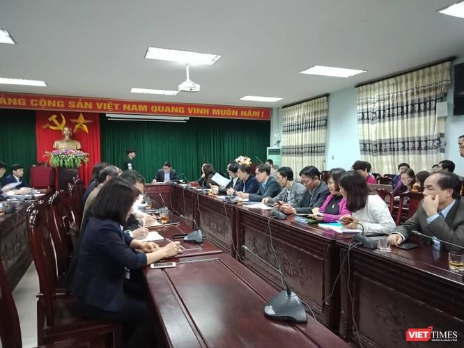 Toàn cảnh buổi họp báo tại huyện Thuận Thành, Bắc Ninh chiều 19/3