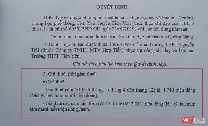 Quảng Ninh: Gần 70 tỷ đồng để thuê trường và cuộc di chuyển vội vã ảnh 2