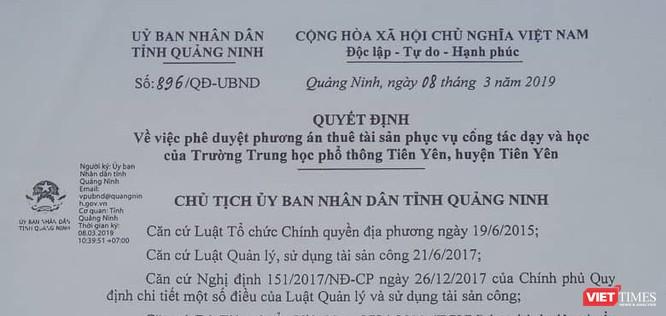 Quảng Ninh: Gần 70 tỷ đồng để thuê trường và cuộc di chuyển vội vã ảnh 1