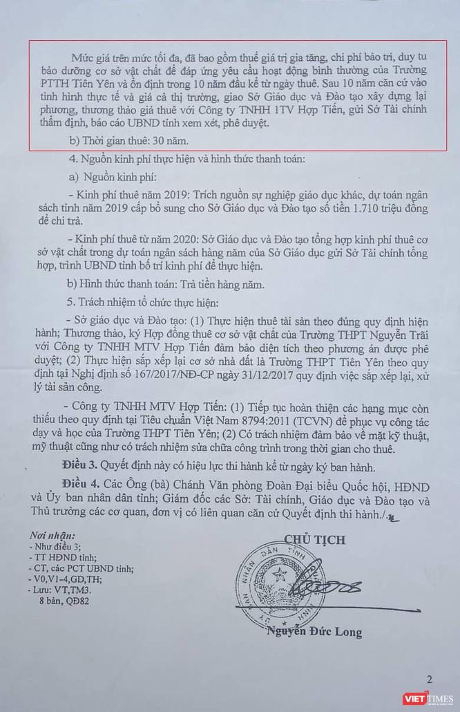 Quảng Ninh: Gần 70 tỷ đồng để thuê trường và cuộc di chuyển vội vã ảnh 3