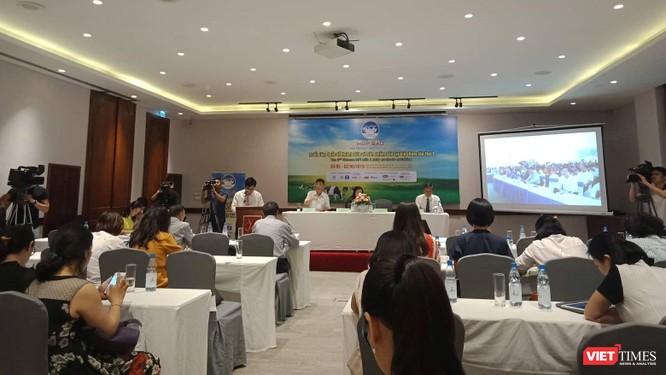 Toàn cảnh buổi họp báo Triển lãm quốc tế ngành sữa lần thứ 2