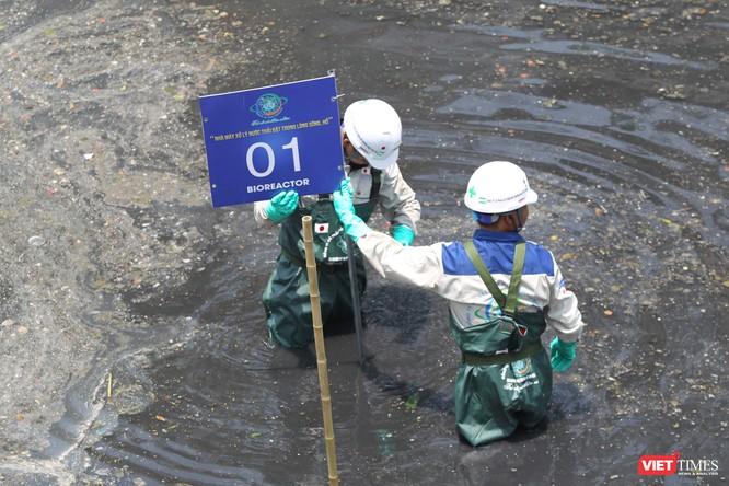 Hà Nội: Thí điểm làm sạch sông Tô Lịch với công nghệ nano ảnh 1