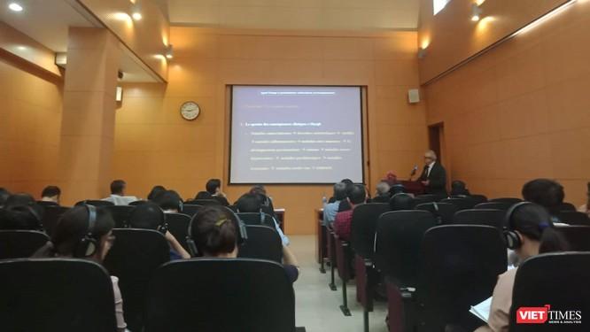 GS. Charles Sultan, Chủ tịch Hiệp hội AFAPE chia sẻ về tác hại của Dioxin tới sức khỏe con người