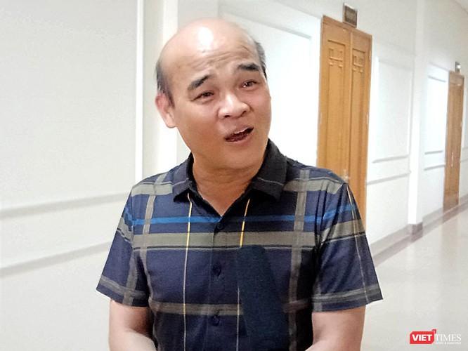 Ông Nguyễn Huy Quang - Vụ trưởng, Vụ Pháp chế (Bộ Y tế) trả lời phỏng vấn