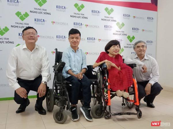 """Chủ tịch VDCA Nguyễn Minh Hồng: """"Thông tin đã tạo ra môi trường bình đẳng cho cả người khuyết tật và người bình thường"""" ảnh 1"""