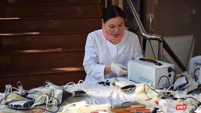 Bệnh viện Hữu nghị Việt Đức có thể thiếu hơn 10.000 đơn vị máu để cấp cứu bệnh nhân trong dịp Tết ảnh 11