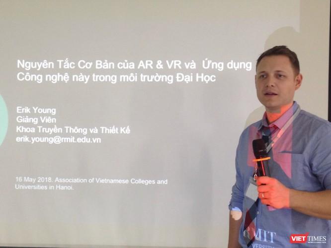 RMIT Việt Nam đề xuất ứng dụng thực tế ảo hỗn hợp tại các trường đại học ảnh 1