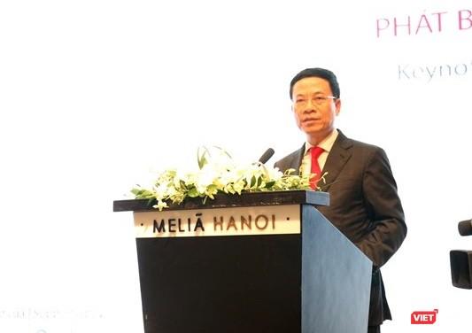 Bộ trưởng Nguyễn Mạnh Hùng: Phải chấp nhận cái mới để có được nền công nghiệp mới ảnh 1