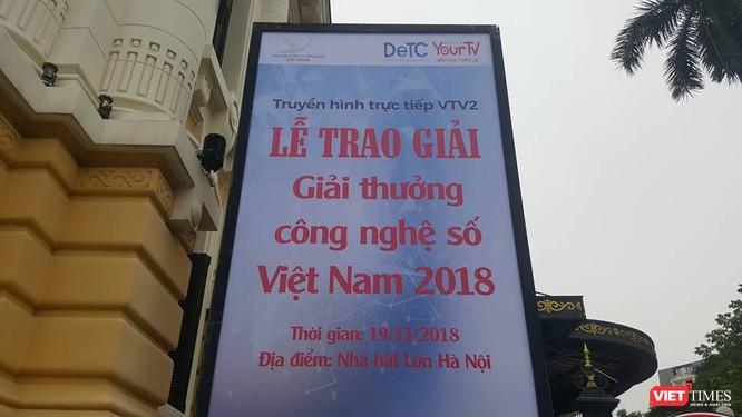 Giải thưởng Công nghệ số Việt Nam 2018: Thúc đẩy các DN mạnh dạn đầu tư, ứng dụng công nghệ số ảnh 1