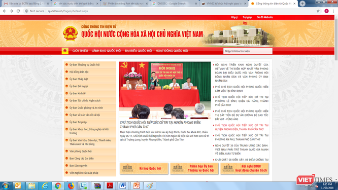 Bùng phát website mạo danh lãnh đạo cơ quan Đảng, Nhà nước ảnh 2