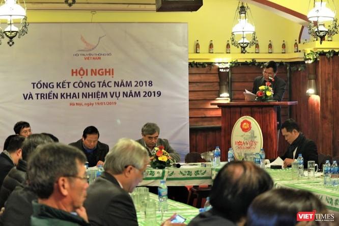Toàn cảnh Hội nghị Tổng kết công tác năm 2018 và Triển khai nhệm vụ năm 2019 của Hội Truyền thông số Việt Nam.