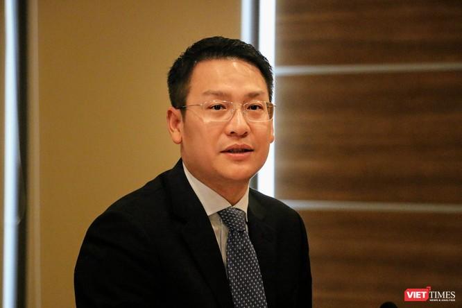 Ông Vũ Kiêm Văn, Phó Tổng thư ký Hội Truyền thông số Việt Nam (VDCA), Phó trưởng Ban Thường trực Ban Tổ chức Giải thưởng Chuyển đổi số Việt Nam (VDA) 2019