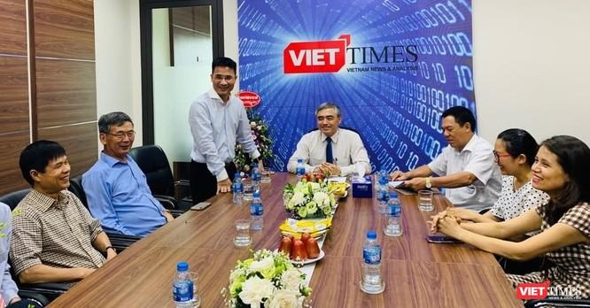 Chủ tịch Nguyễn Minh Hồng: VietTimes góp phần mạnh mẽ tăng uy tín của Hội Truyền thông số Việt Nam ảnh 9