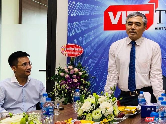 Chủ tịch Nguyễn Minh Hồng: VietTimes góp phần mạnh mẽ tăng uy tín của Hội Truyền thông số Việt Nam ảnh 1